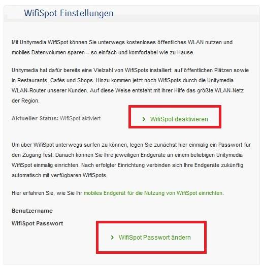 Unitymedia wifispot aktivieren deaktivieren  rothlive.de