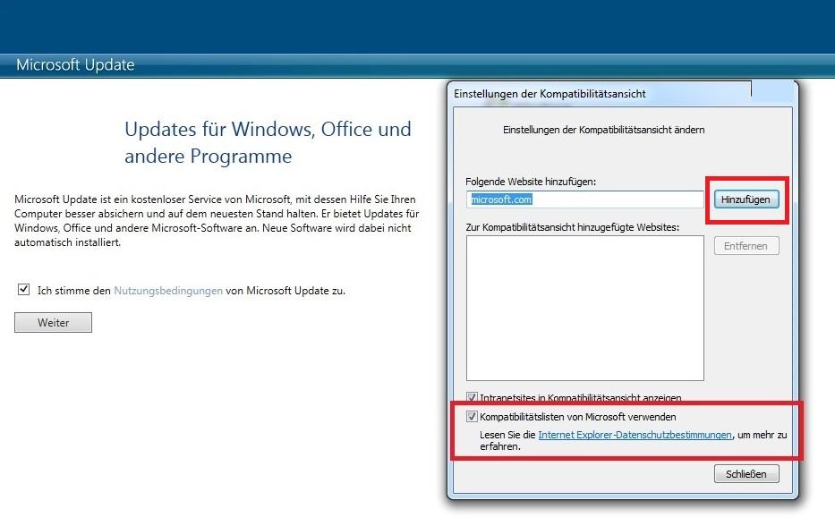 Windows 7 Updates Fur Andere Microsoft Programme Aktivieren
