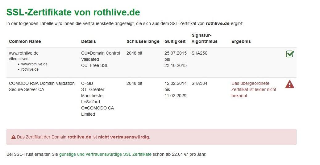 Zertifikat in Plesk einbinden installieren aktivieren | rothlive.de